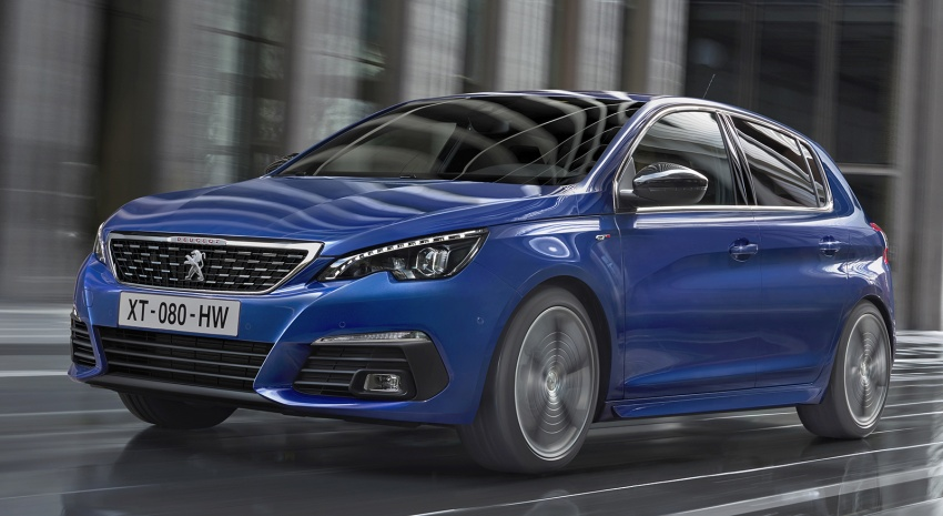 Peugeot 308 facelift revealed with new engines, 8AT Image #654859