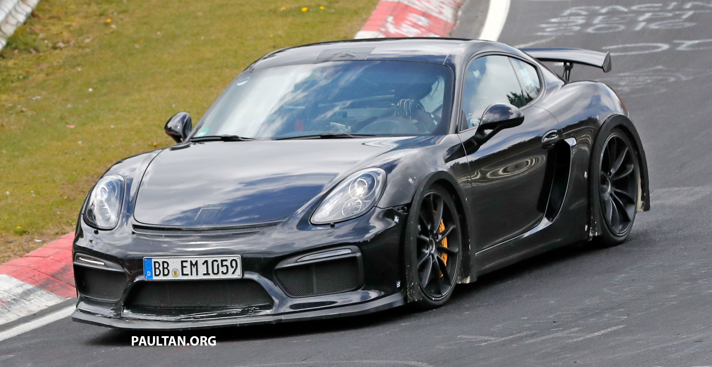 spyshots porsche cayman gt4 rs in the works. Black Bedroom Furniture Sets. Home Design Ideas