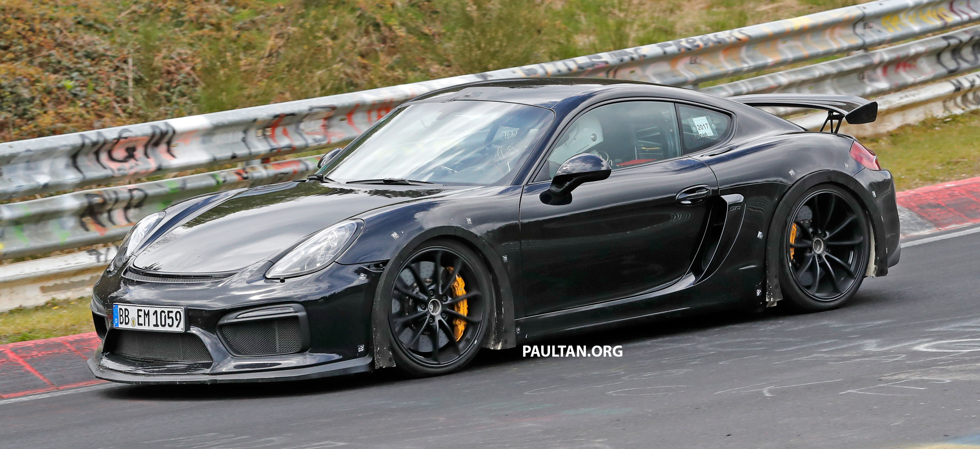 spyshots porsche cayman gt4 rs in the works paul tan image 655896. Black Bedroom Furniture Sets. Home Design Ideas