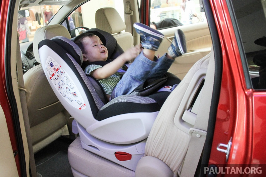 "Proton presents child seats to early bird customers, plus prizes for the ""Experience the Drive"" contest Image #655390"
