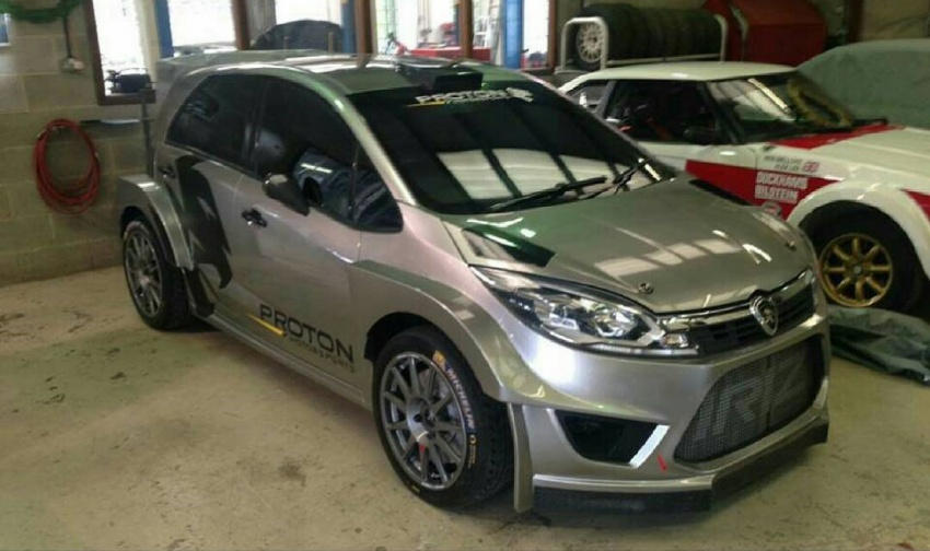 Proton Iriz R5 set to compete in 2018 World Rally Championship with Mitsubishi Evolution X engine Image #660040