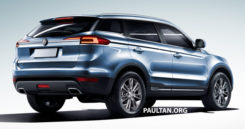 Proton SUV gets rendered based on Geely Boyue Image #663264