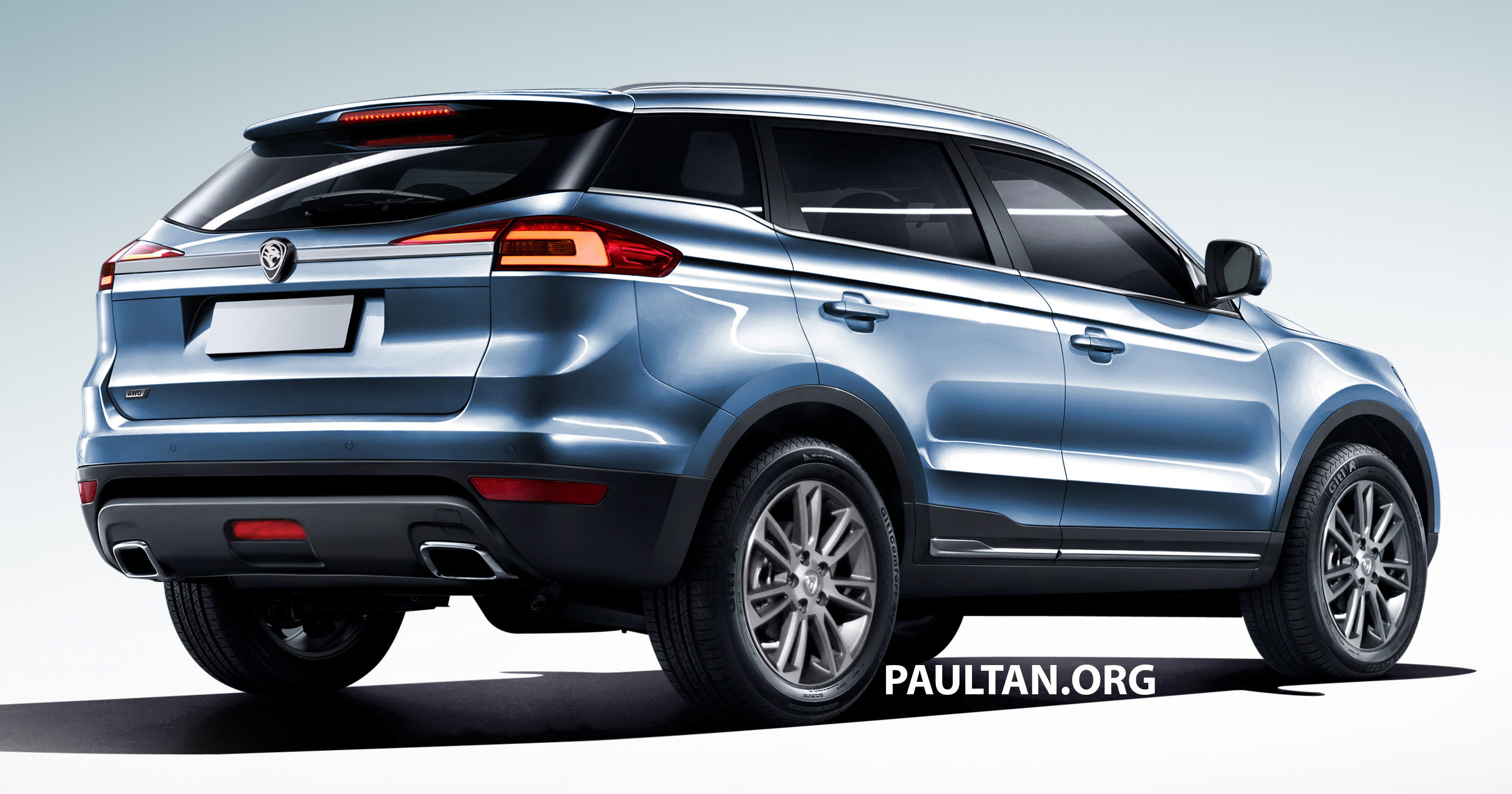 Proton Suv Gets Rendered Based On Geely Boyue