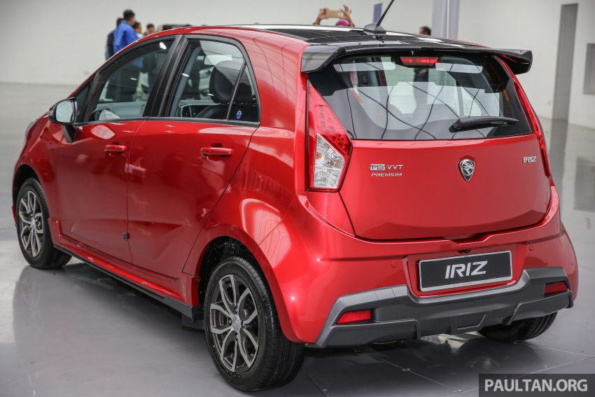 GALLERY: 2017 Proton Iriz preview – full pix, details Image #662957