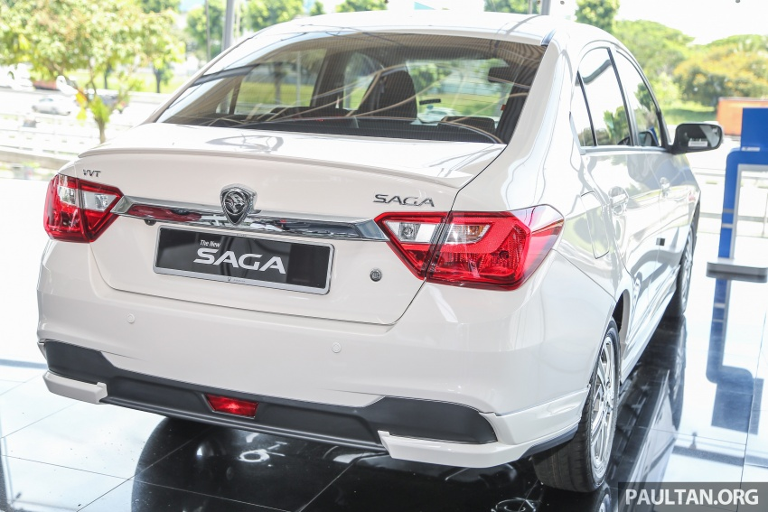Proton Saga gets optional bodykit, priced at RM1,888 Image #660149
