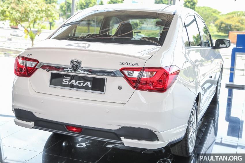 Proton Saga Premium kini didatangkan dengan kit badan opsyenal dan dijual pada harga RM47,688 Image #660209