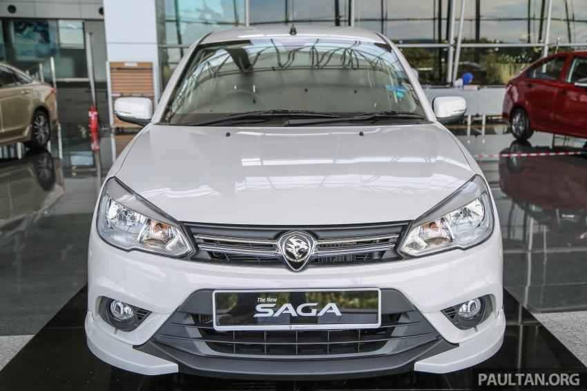 Proton Saga Premium kini didatangkan dengan kit badan opsyenal dan dijual pada harga RM47,688 Image #660210