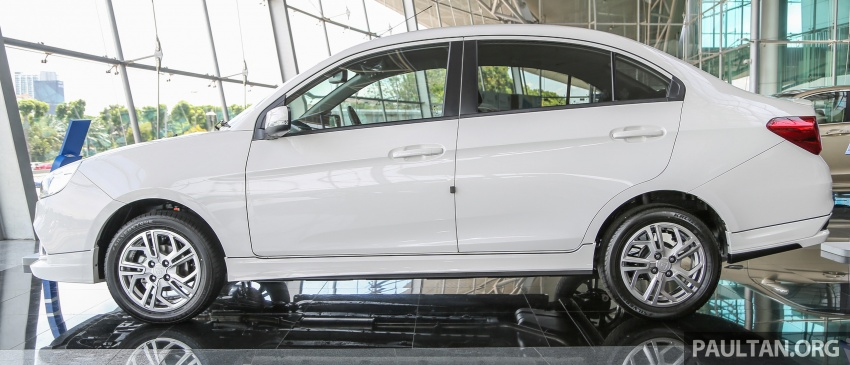 Proton Saga gets optional bodykit, priced at RM1,888 Image #660151