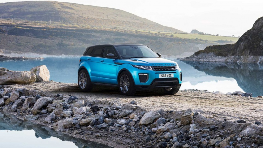 Range Rover Evoque Landmark Edition celebrates 600,000 units in six years achievement Image #655808
