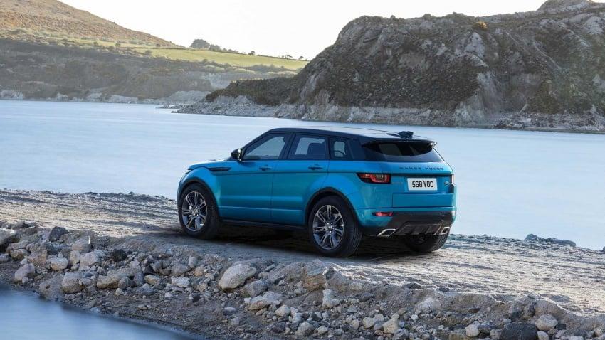 Range Rover Evoque Landmark Edition celebrates 600,000 units in six years achievement Image #655812