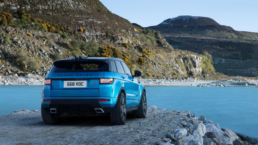 Range Rover Evoque Landmark Edition – model khas rai penghasilan 600,000 unit sepanjang enam tahun Image #655920