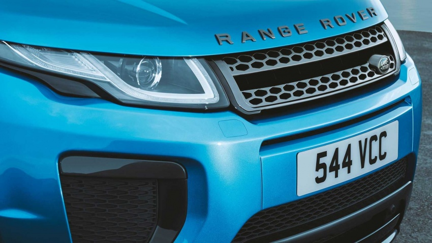 Range Rover Evoque Landmark Edition celebrates 600,000 units in six years achievement Image #655816