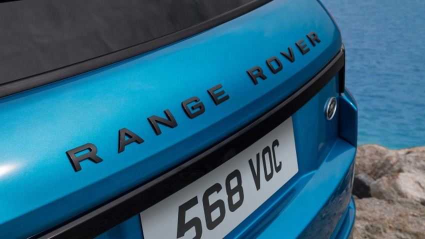 Range Rover Evoque Landmark Edition celebrates 600,000 units in six years achievement Image #655823