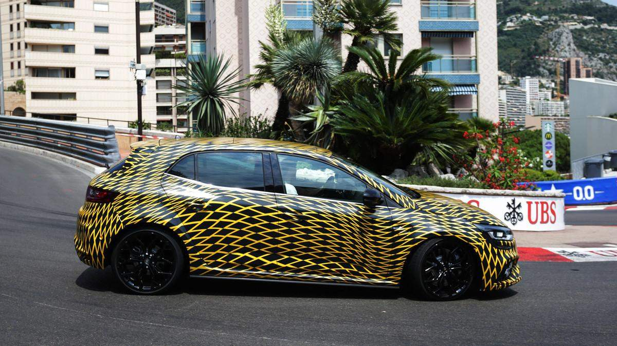 renault megane rs previewed at monaco gp manual and twin. Black Bedroom Furniture Sets. Home Design Ideas