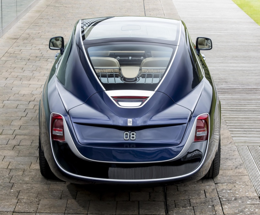 Rolls-Royce Sweptail – one man's dream comes true Image #665169