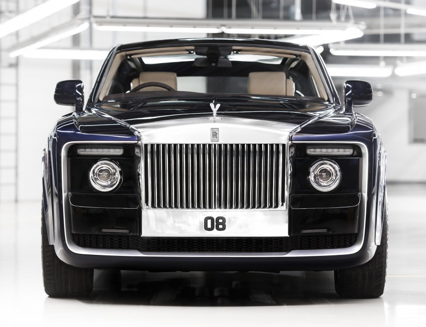 Rolls-Royce Sweptail – one man's dream comes true Image #665172