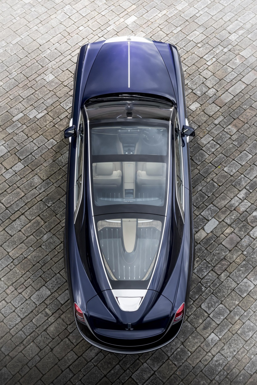Rolls-Royce Sweptail – one man's dream comes true Image #665173