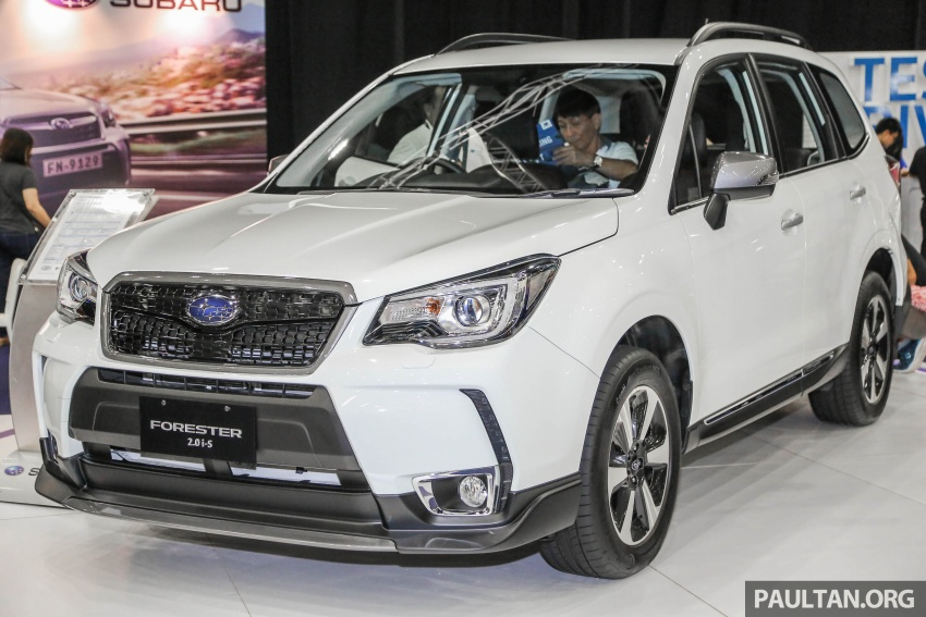 Subaru Forester 2.0i-S officially previewed in Malaysia Image #658079