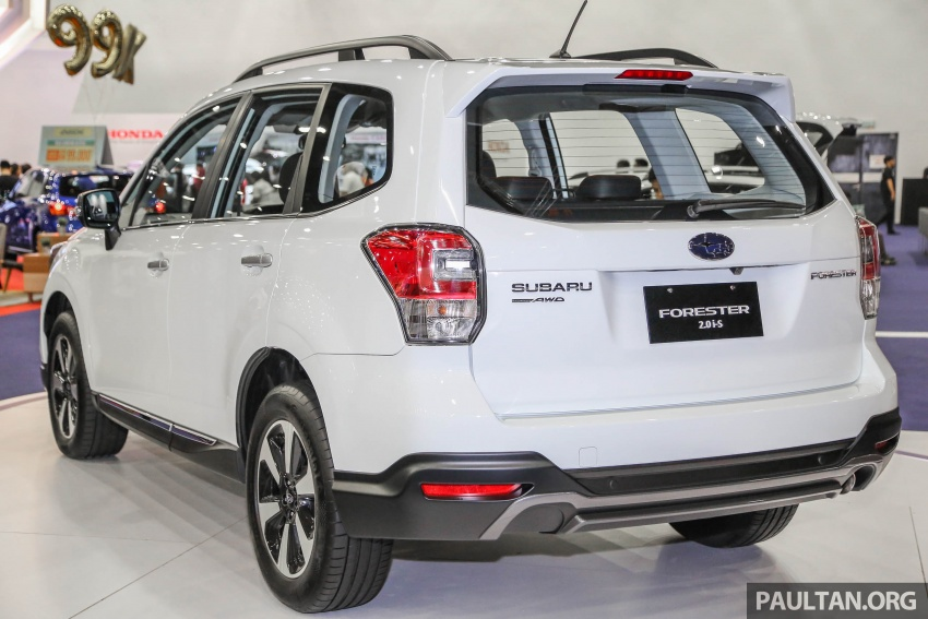 Subaru Forester 2.0i-S officially previewed in Malaysia Image #658080