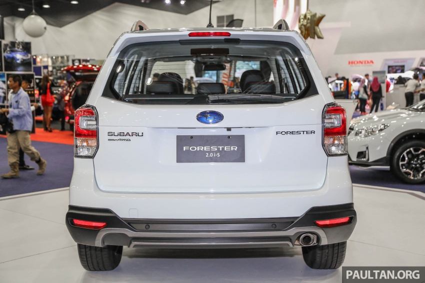 Subaru Forester 2.0i-S officially previewed in Malaysia Image #658082