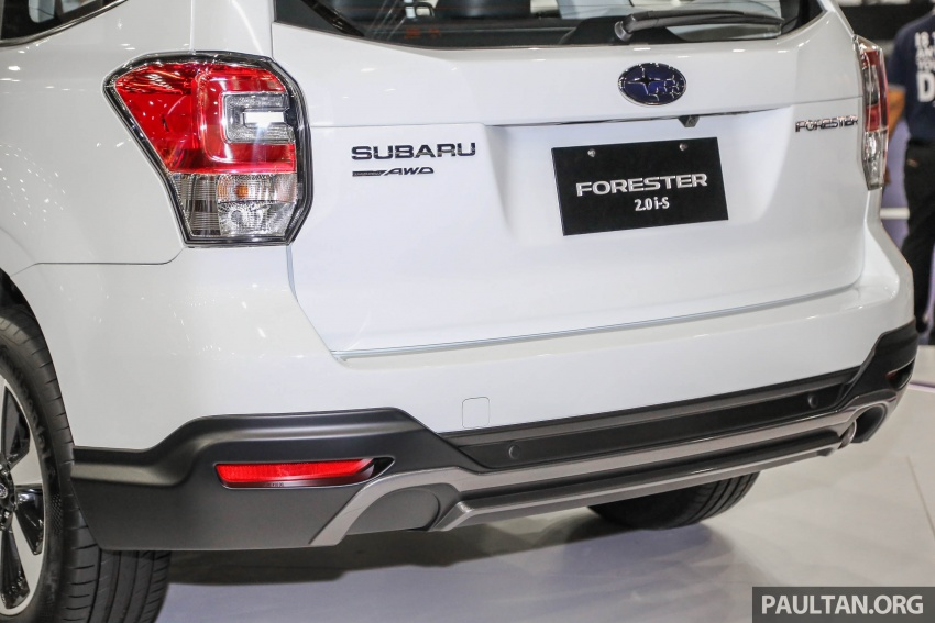 Subaru Forester 2.0i-S officially previewed in Malaysia Image #658085