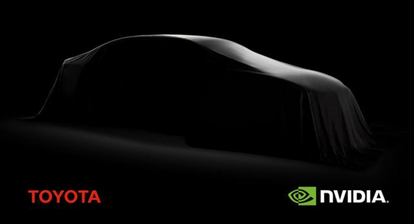 Toyota teaming up with Nvidia on autonomous tech Image #657728