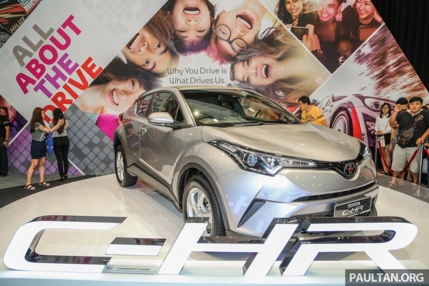 Toyota C-HR here in Malaysia for first official preview Image #658250