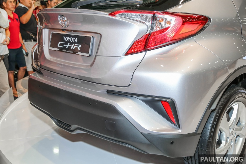 Toyota C-HR here in Malaysia for first official preview Image #658261