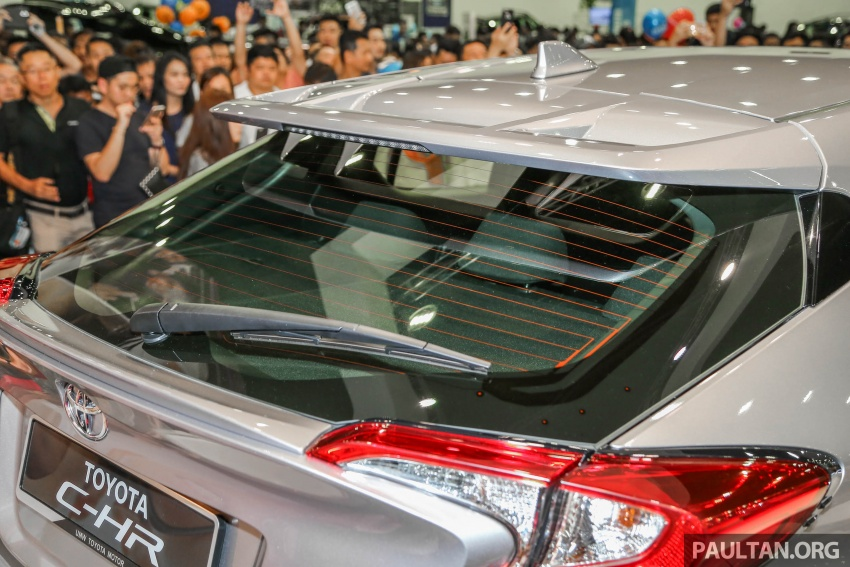 Toyota C-HR here in Malaysia for first official preview Image #658265