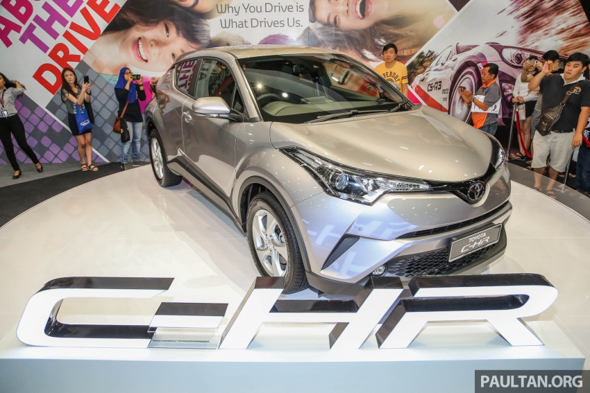 Toyota C-HR here in Malaysia for first official preview Image #658251