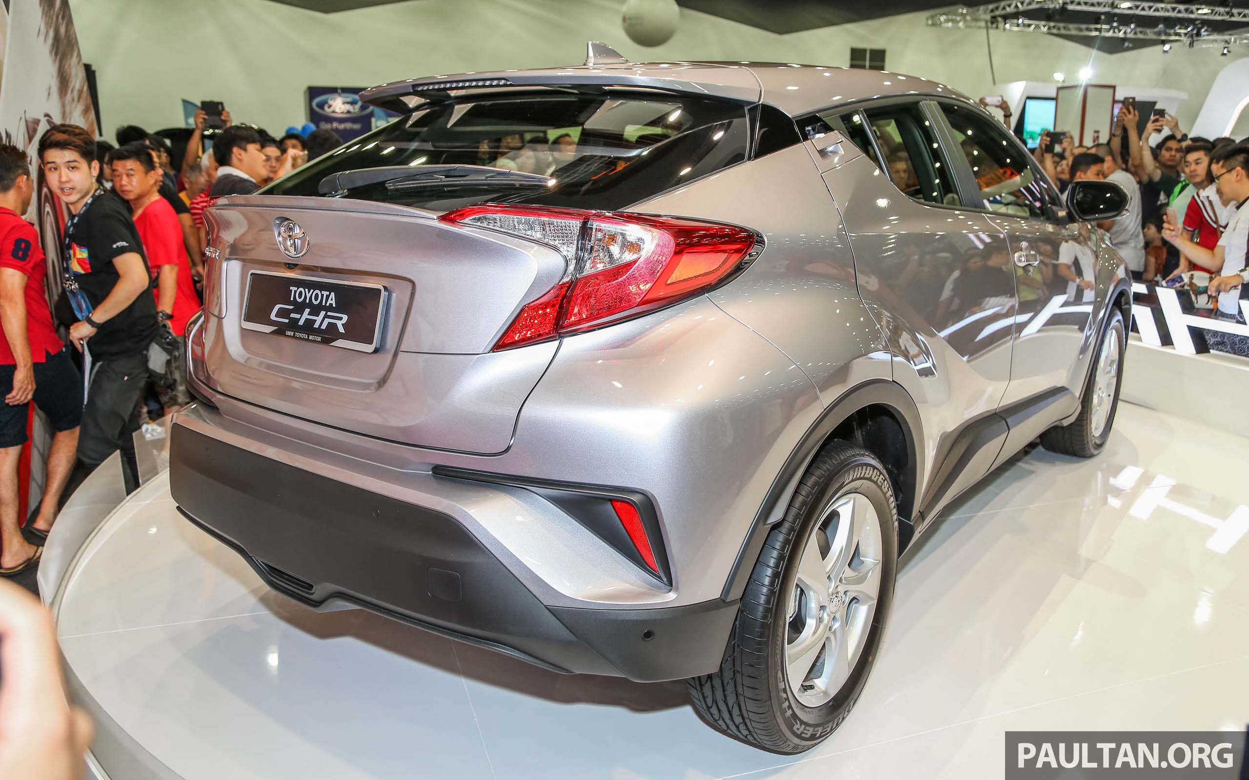toyota c-hr here in malaysia for first official preview