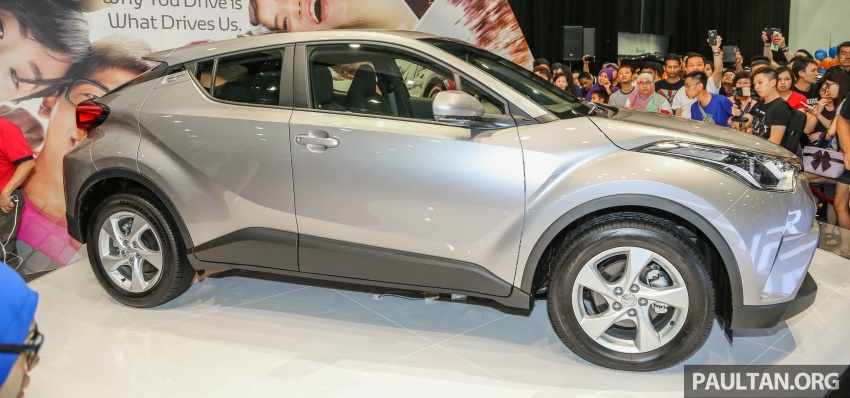 Toyota C-HR here in Malaysia for first official preview Image #658253