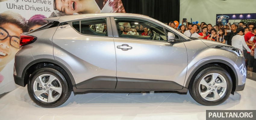 Toyota C-HR here in Malaysia for first official preview Image #658254