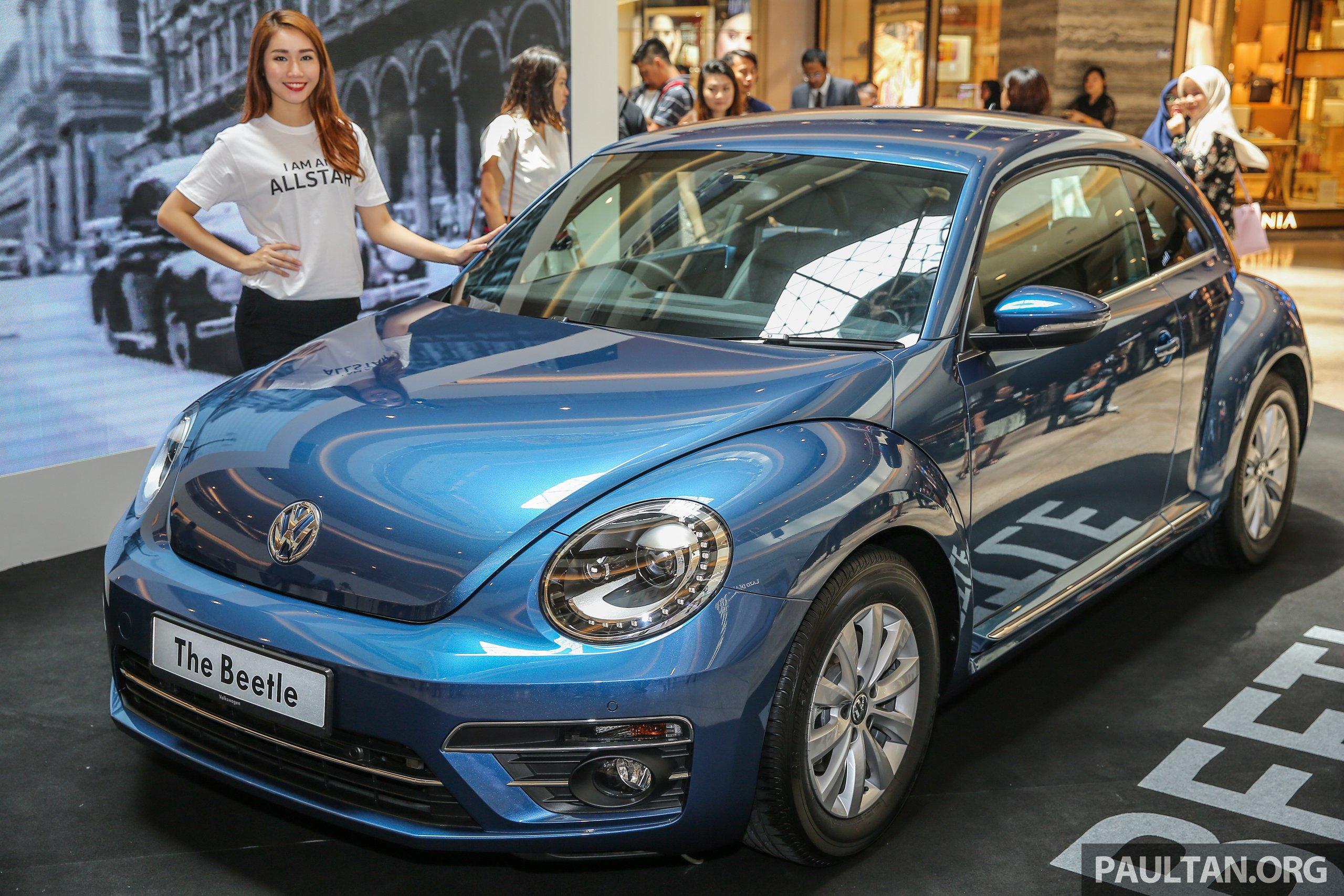 Volkswagen Beetle 1 2l Tsi Baharu Diperkenalkan Di