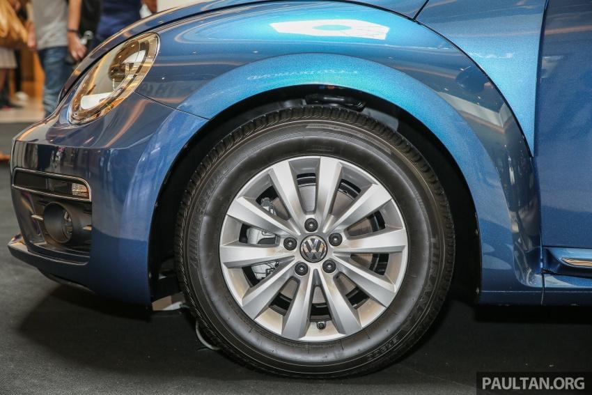 Volkswagen Beetle 1.2L TSI baharu diperkenalkan di Malaysia – varian Design dan Sport, harga dari RM137k Image #662679