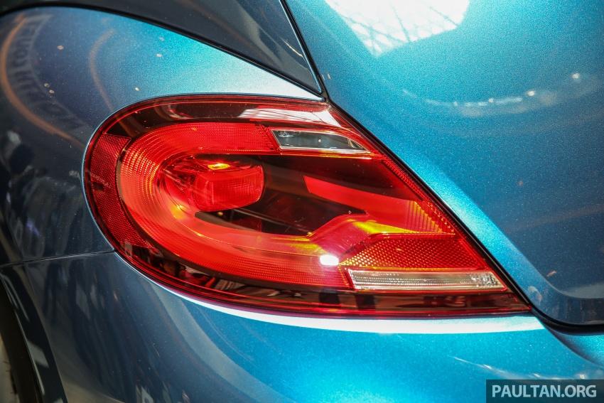 Volkswagen Beetle 1.2L TSI baharu diperkenalkan di Malaysia – varian Design dan Sport, harga dari RM137k Image #662674