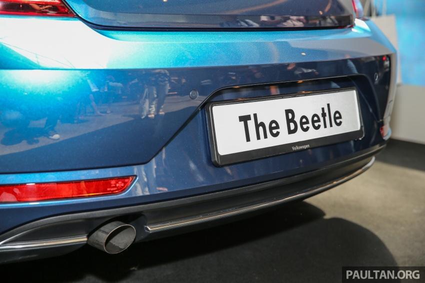Volkswagen Beetle 1.2L TSI baharu diperkenalkan di Malaysia – varian Design dan Sport, harga dari RM137k Image #662676