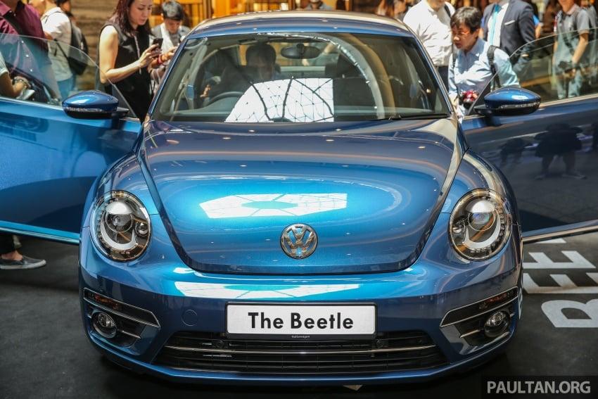 Volkswagen Beetle 1.2L TSI baharu diperkenalkan di Malaysia – varian Design dan Sport, harga dari RM137k Image #662667