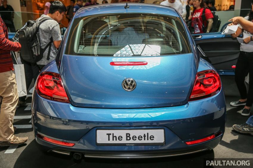 Volkswagen Beetle 1.2L TSI baharu diperkenalkan di Malaysia – varian Design dan Sport, harga dari RM137k Image #662668