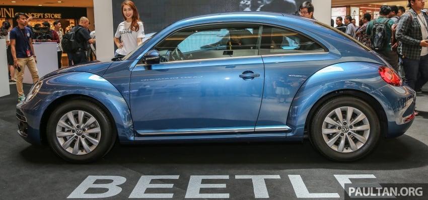 Volkswagen Beetle – updated Bug in M'sia, fr RM137k Image #662636