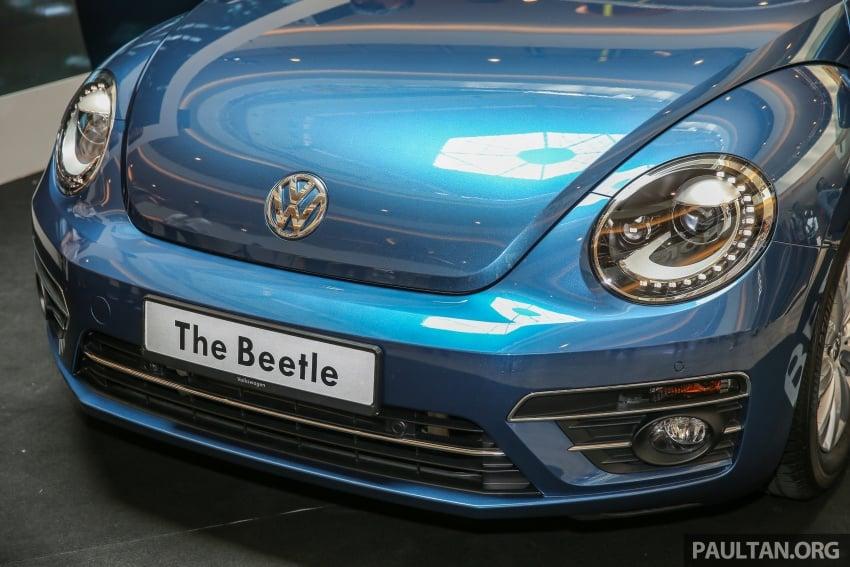 Volkswagen Beetle 1.2L TSI baharu diperkenalkan di Malaysia – varian Design dan Sport, harga dari RM137k Image #662670