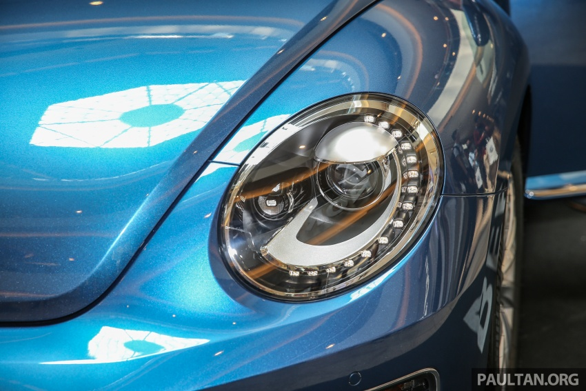 Volkswagen Beetle 1.2L TSI baharu diperkenalkan di Malaysia – varian Design dan Sport, harga dari RM137k Image #662671