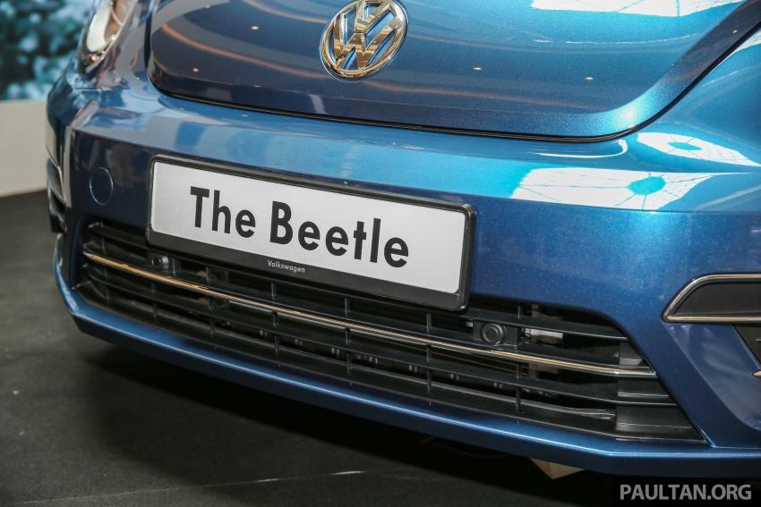 Volkswagen Beetle 1.2L TSI baharu diperkenalkan di Malaysia – varian Design dan Sport, harga dari RM137k Image #662673