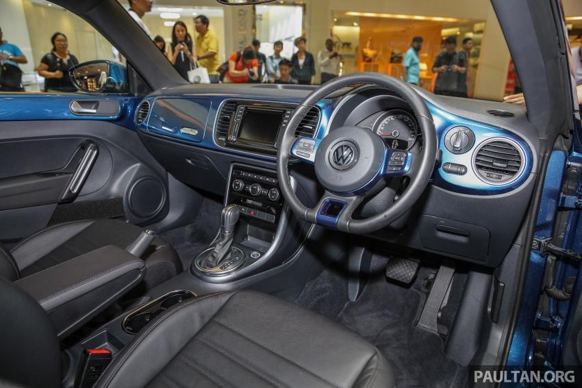 Volkswagen Beetle 1.2L TSI baharu diperkenalkan di Malaysia – varian Design dan Sport, harga dari RM137k Image #662696