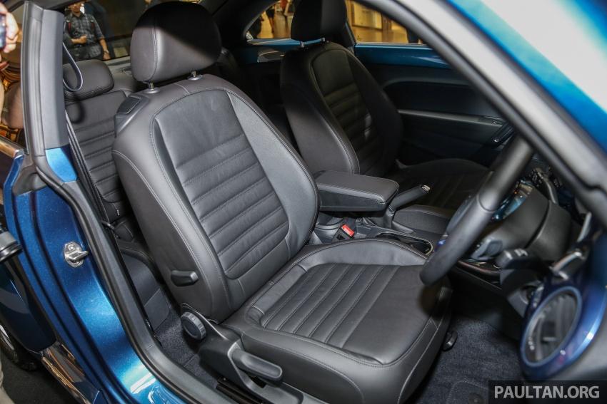 Volkswagen Beetle 1.2L TSI baharu diperkenalkan di Malaysia – varian Design dan Sport, harga dari RM137k Image #662689