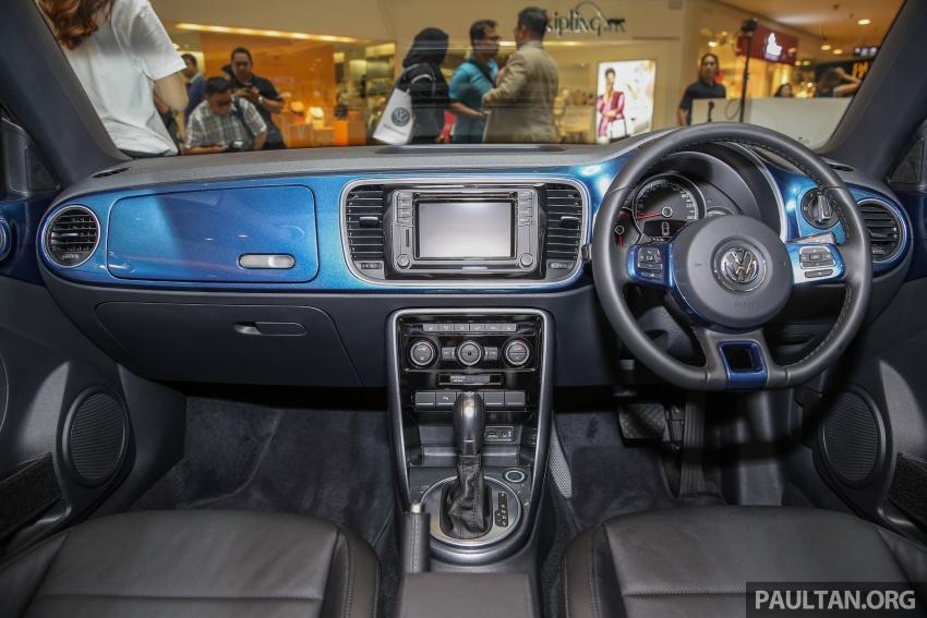 Volkswagen Beetle 1.2L TSI baharu diperkenalkan di Malaysia – varian Design dan Sport, harga dari RM137k Image #662681
