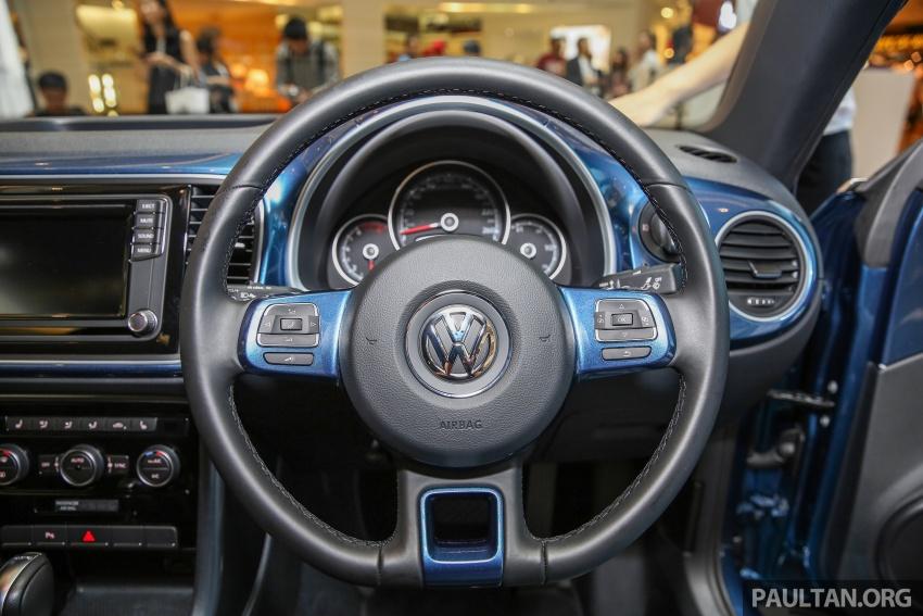 Volkswagen Beetle 1.2L TSI baharu diperkenalkan di Malaysia – varian Design dan Sport, harga dari RM137k Image #662682