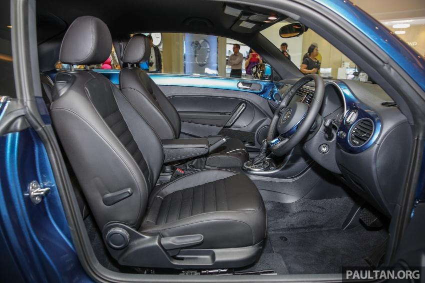 Volkswagen Beetle 1.2L TSI baharu diperkenalkan di Malaysia – varian Design dan Sport, harga dari RM137k Image #662688