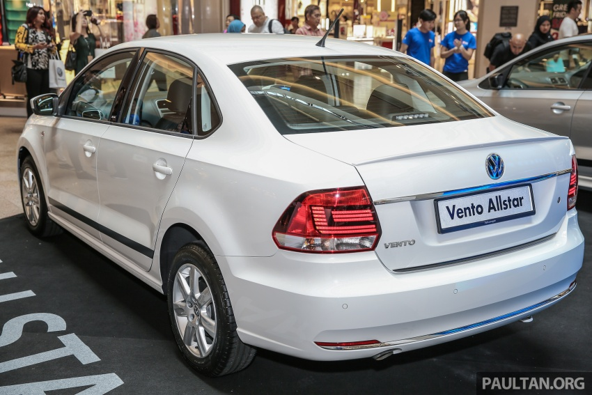 Volkswagen Vento Allstar and GT editions launched – from RM78,888, added kit at a lower price Image #662583