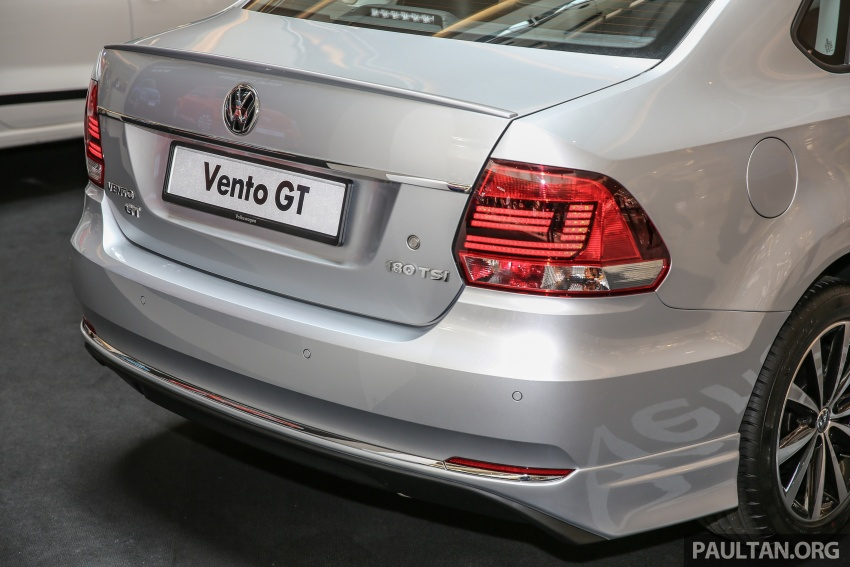 Volkswagen Vento Allstar and GT editions launched – from RM78,888, added kit at a lower price Image #662608